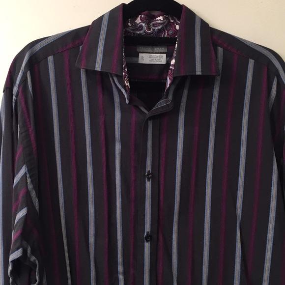 79923daf08 Men's Thomas Dean long sleeve button down shirt. M_5aff93e931a3765c84c6d935